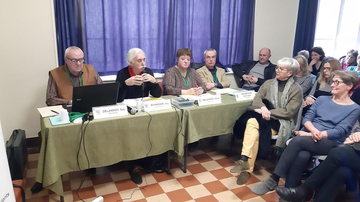 Assemblée générale 2020 de l'association