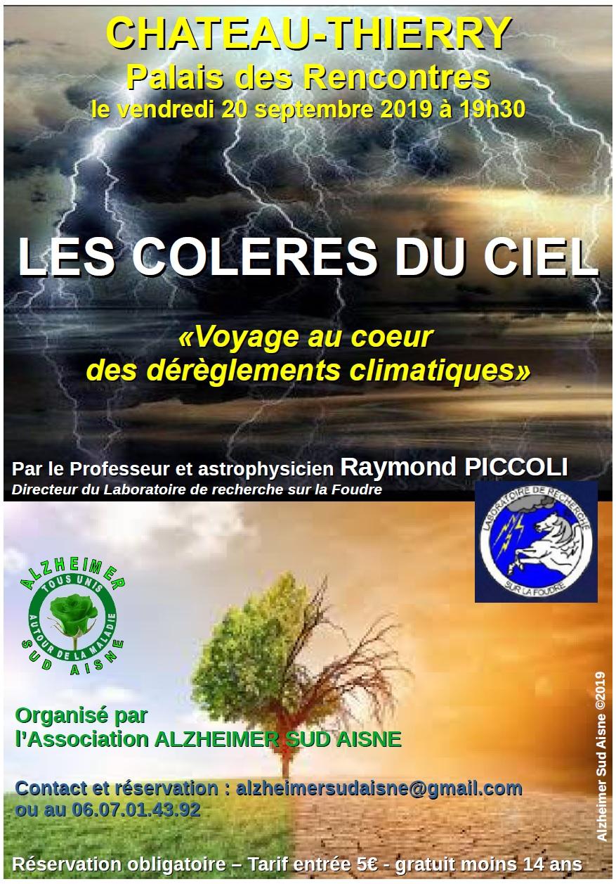 CONFERENCE SUR LES DEREGLEMENTS CLIMATIQUES