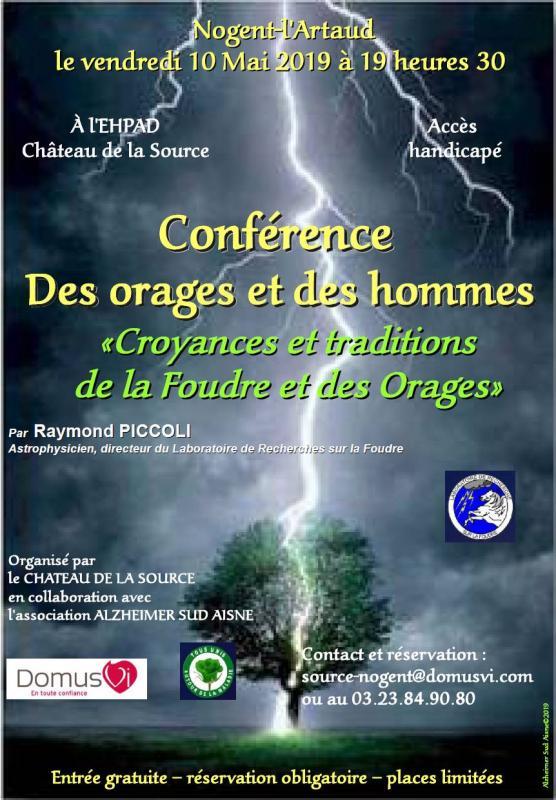 Affiche conference mai 2019 image
