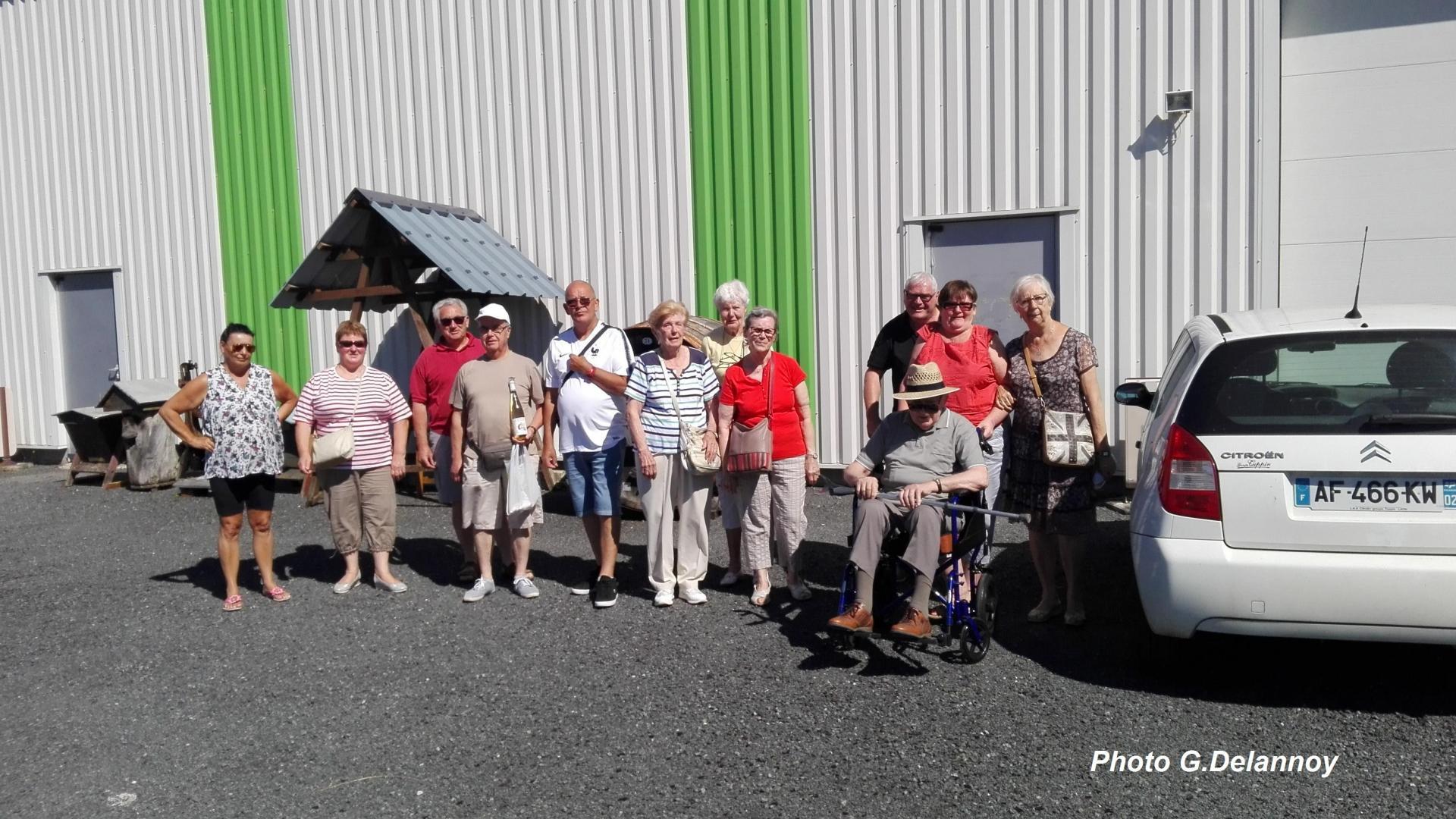 Visite d'une miellerie juin 2018